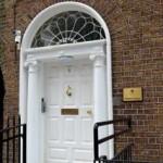White Hall Door at No.5 Harrington St