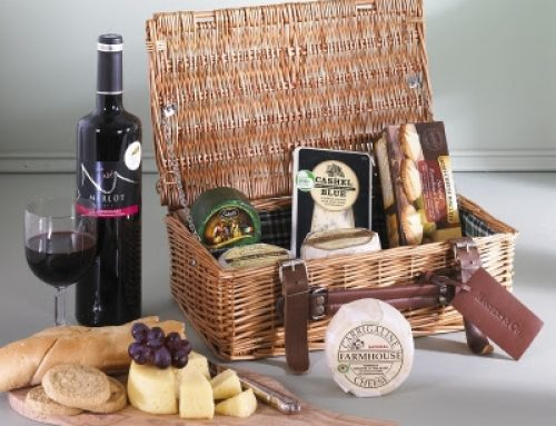 Congratulations! GSRMA winners of the Irish Cheese and Wine Hampers