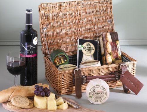 Congratulations! GSRMA winners of the Irish Cheese and Wine Hampers
